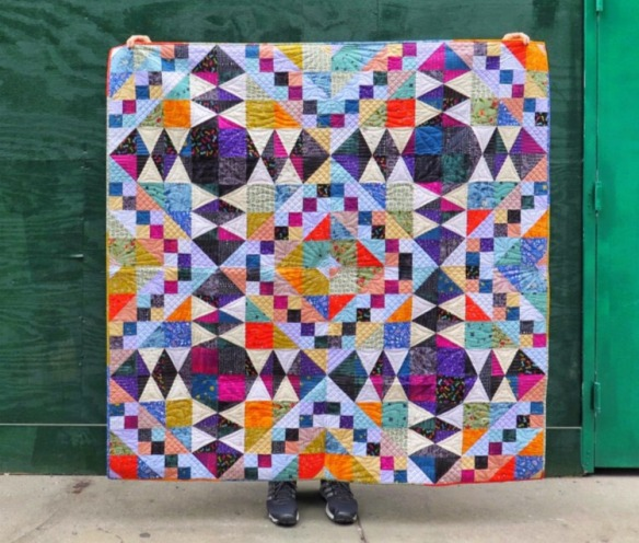 Tiffany's quilt