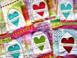 prayer heart prayer flags